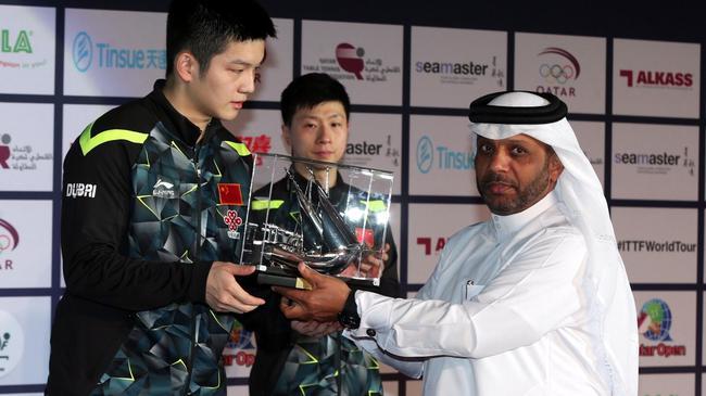 阿尔·默罕纳德宣布退出国际乒联主席竞选