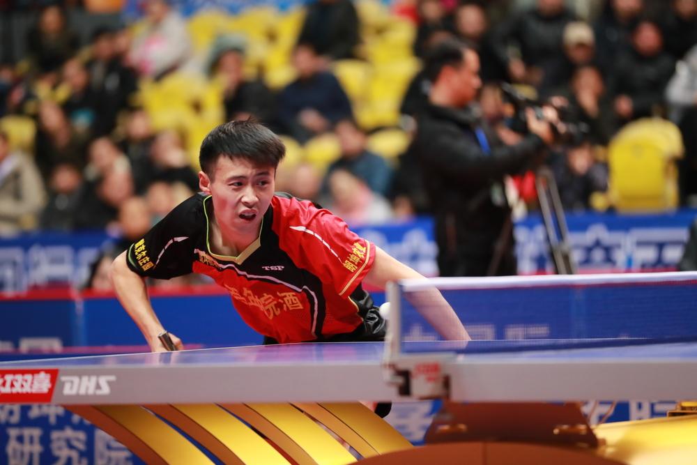 乒超联赛男子第十二轮:安徽朗坤主场2:3惜败江苏中超电缆