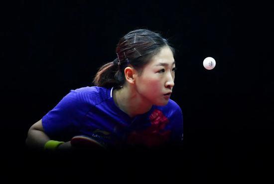 刘诗雯:拼尽全力只为热爱 奥运年做到无怨无悔