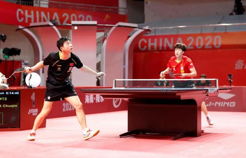 国乒奥运模拟赛落幕 全面对标东京 练兵价值大